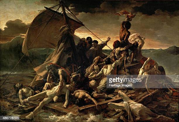 The Raft of the Medusa 18181819 Artist Géricault Théodore