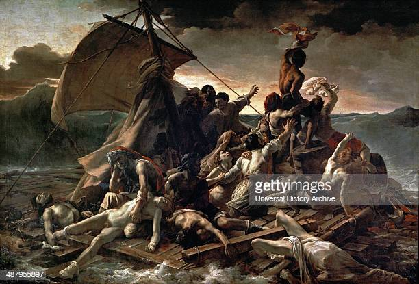 The Raft of the Medusa oil painting of 1818–1819 by the French Romantic painter Théodore Géricault Completed when the artist was 27 the work has...