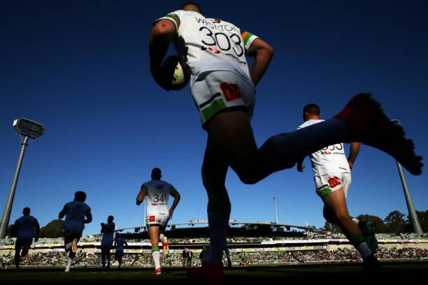 AUS: NRL Rd 23 - Raiders v Sea Eagles