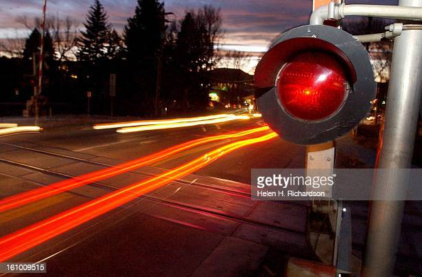 The railroad crossing at fifth and Front streets is a constant flow of traffic from sun up to sun down Tonight the town of Castle Rock will decide on...