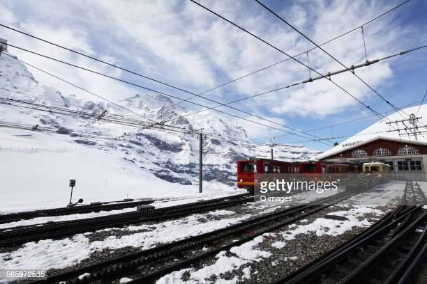 The railway on the Jungfrau