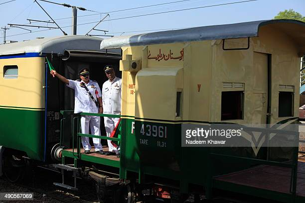 CONTENT] The Railway steam safari's Guard Waving the green flag Few years before The Last steam safari was arranged from Lahore Cant Station to...