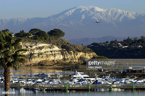 The rain on Monday and Tuesday this week gave way to clear skies and snow covered mountain tops in the San Gabriel range Wednesday where Mt Baldy...