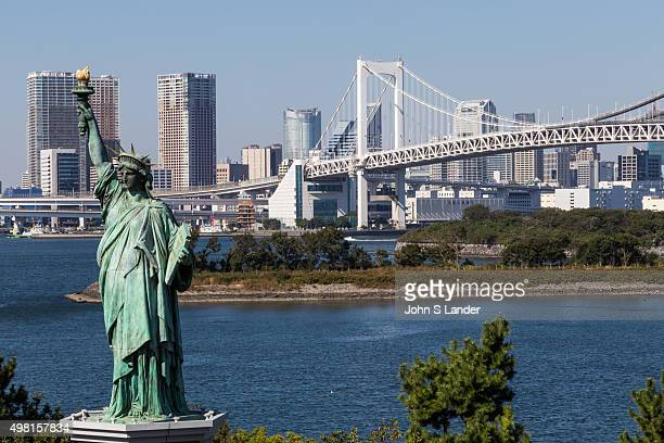 The Rainbow Bridge was designed to allow ships to safely pass under the bridge but as it is close to Haneda airport it could not be built over a...