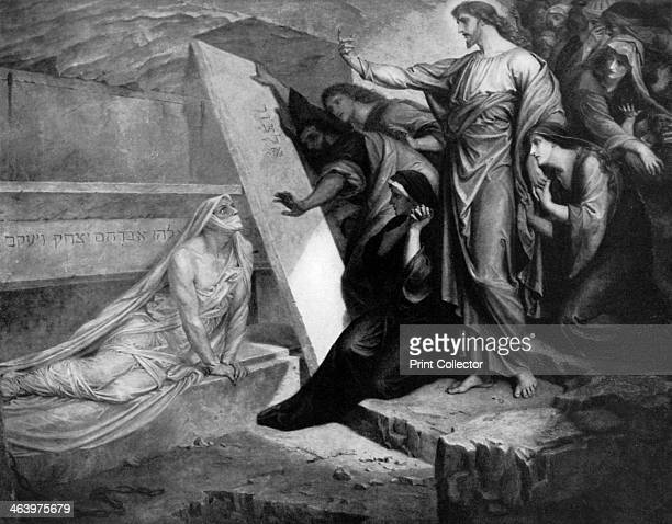 'The Raising of Lazarus' 1926 From An Outline of Christianity The Story of Our Civilisation volume 1 The Birth of Christianity edited by RG Parsons...