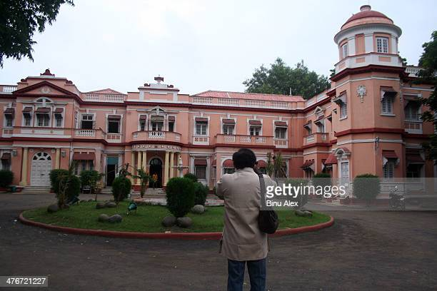 The Rajvant Palace in the formerly princely state of Rajpipla in Guijarat, onstructed in the year 1915 by Maharajah Vijay Singhji is now a major...