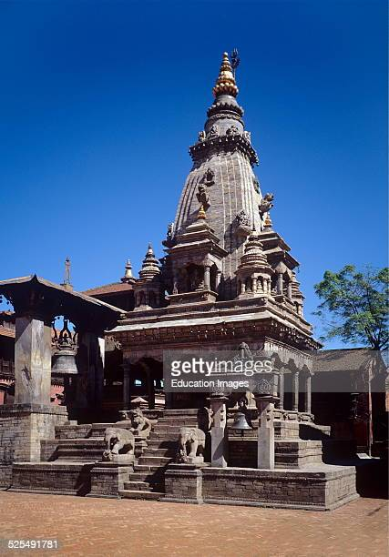 The Rameshwar Temple Is Dedicated To The Hindu God Shiva In Bhaktapurs Durbar Square