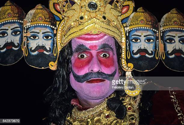 The Ramlila Is A Dramatic Folk Reenactment Of Tenday Battle Between Lord Ram And Ravan