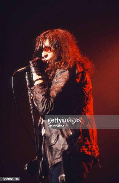 The Ramones, Joey Ramone, Luna Theater, Brussels, Belgium, .