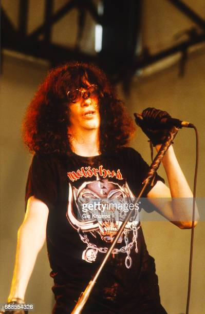 The Ramones, Joey Ramone, Pukkelpop Festival, Sanicole Airfield, Hechtel, Belgium, .