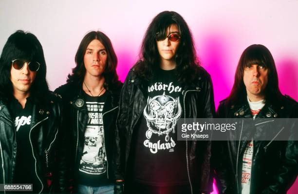 The Ramones, Marky Ramone, C.J. Ramone, Joey Ramone, Johnny Ramone, Luna Theater, Brussels, Belgium, .