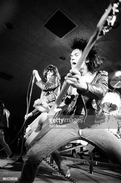 The Ramones perform at the Old Waldorf club in January 1978 in San Francisco California