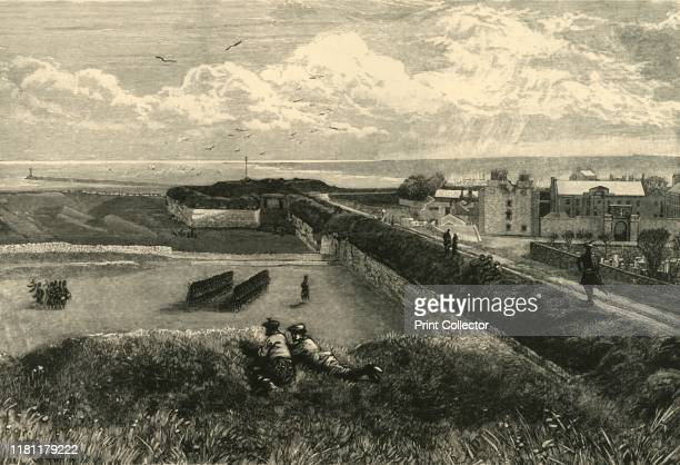 The Ramparts BerwickOnTweed' 1898 Berwick's town walls were built in the early 14th century under Edward I and strengthend by Sir Richard Lee in the...