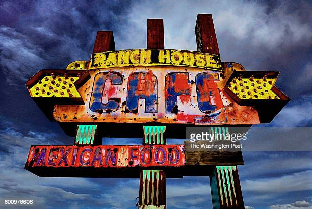 The Ranch House Cafe is closed but the sign remains and is a favorite for photographers who like to make photos of distressed signage The famed Route...