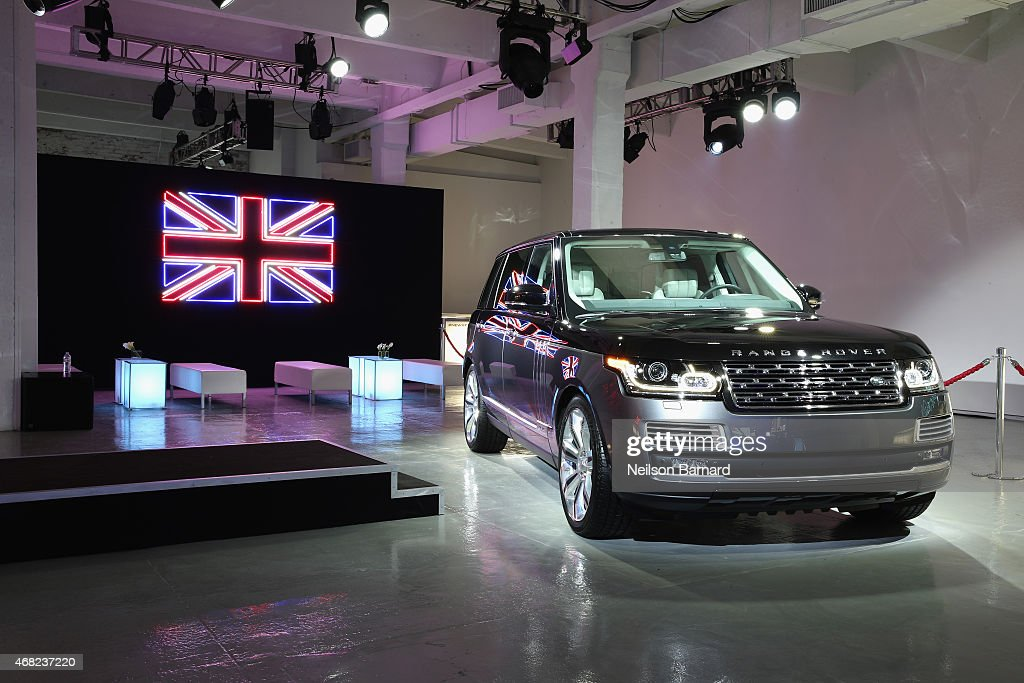 The Range Rover SVAutobiography was unveiled at Jaguar Land Rover's exclusive reception to celebrate the 2015 New York International Auto Show at Center548 on March 31, 2015 in New York City.