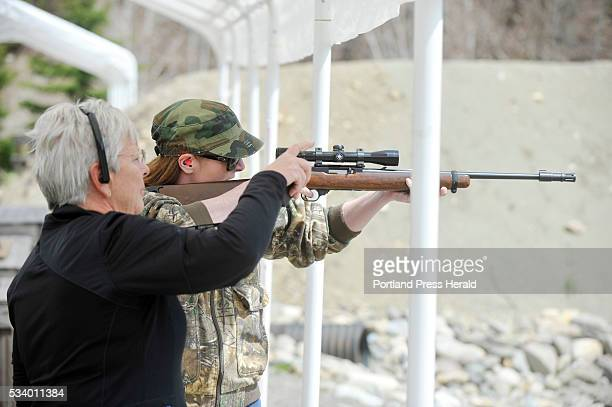 The Rangeley Region Guide and Sportsman's Association hosted a qualifying site for a new reality cable show American Marksman