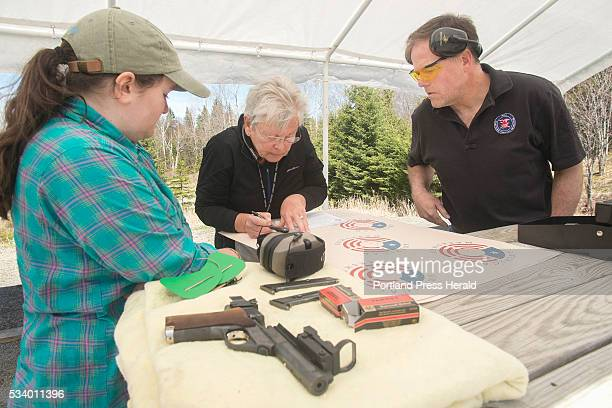 The Rangeley Region Guide and Sportsman's Association hosted a qualifying site for a new reality cable show American Marksman Abigail Hammond and her...