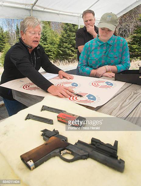 The Rangeley Region Guide and Sportsman's Association hosted a qualifying site for a new reality cable show American Marksman Sheri Oldham goes over...