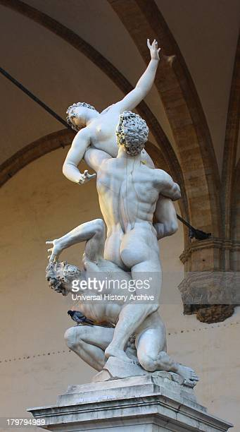 The Rape of the Sabine Women by Giambologna