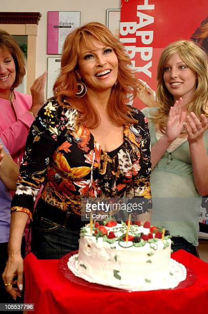 The Raquel Welch Signature Collection donated $1 million in wigs to the American Cancer Society in honor of her 65th birthday and she spent the day...
