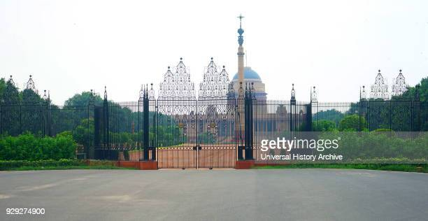 The Rashtrapati Bhavan formerly known as Viceroy's House is the official home of the President of India located at the Western end of Rajpath in New...