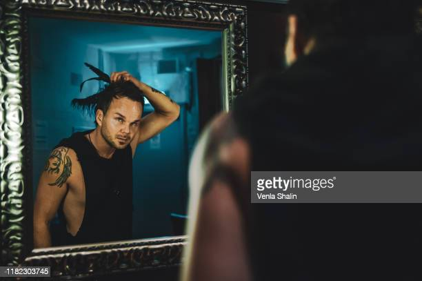 The Rasmus performs on stage at O2 Forum Kentish Town on October 12, 2019 in London, England.