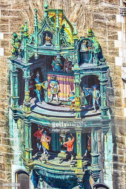 The Rathaus-Glockenspiel clock, Munchin