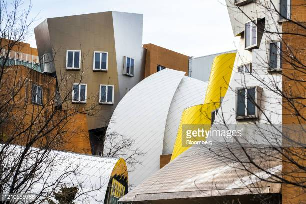 The Ray and Maria Stata Center stands on the Massachusetts Institute of Technology campus in Cambridge Massachusetts US on Monday April 20 2020...