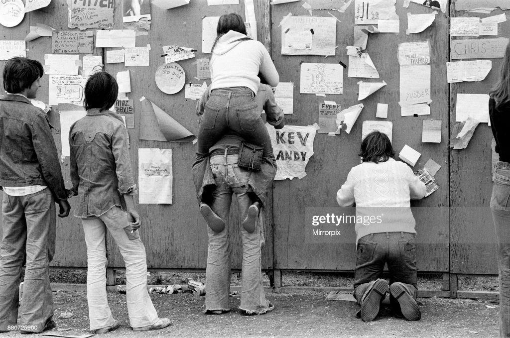 Reading Festival, 1976 : News Photo