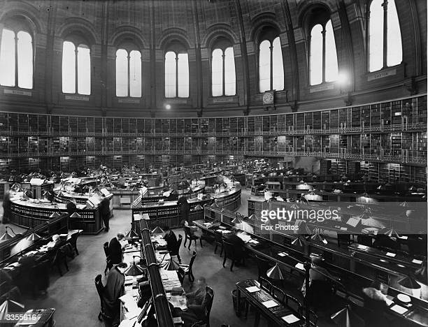 The Reading Room at the British Museum in London