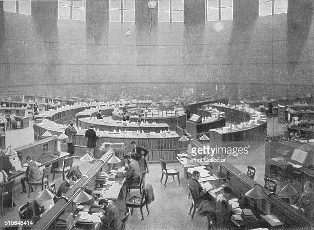 The Reading Room at the British Museum London circa 1903 The Reading Room was designed by Sydney Smirke Construction began in 1854 and was completed...