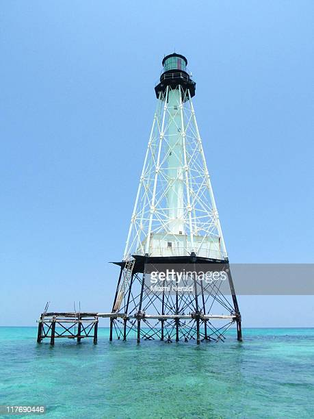 The real Alligator Reef Lighthouse has been helping mariners navigate the waters off Islamorada since 1873.