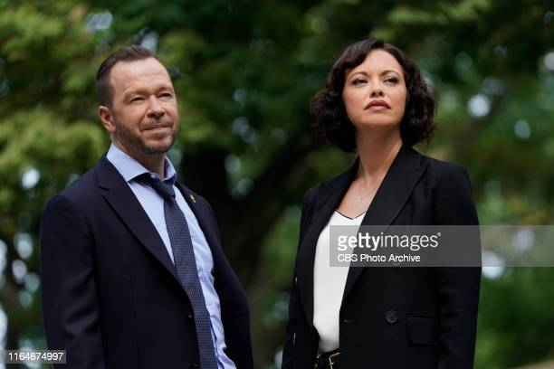 """""""The Real Deal"""" - Danny and Baez grapple with a year-old homicide investigation brought to their attention by Maggie , the medium who previously..."""