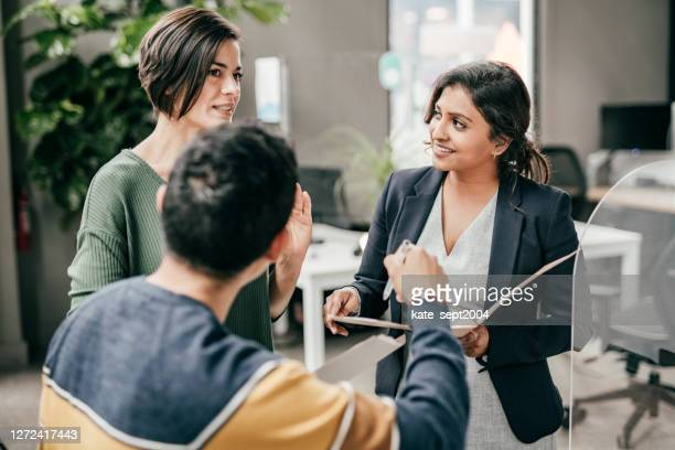 the real estate asset manager`s role in leading a team & promoting operational efficiency - employee engagement stock pictures, royalty-free photos & images