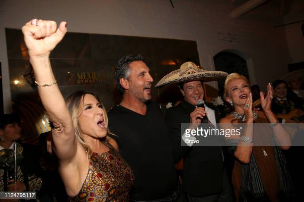 EVENTS The Real Housewives of Beverly Hills and Mexican Dynasties Premiere Party Pictured Doris Bessudo Mauricio Umansky Fernando Allende Raquel...