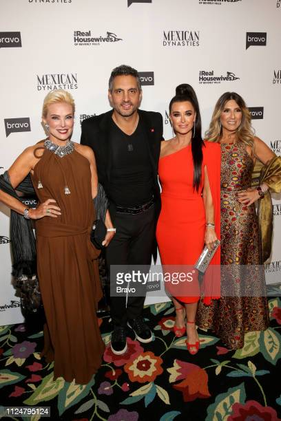 EVENTS The Real Housewives of Beverly Hills and Mexican Dynasties Premiere Party Pictured Raquel Bessudo Mauricio Umansky Kyle Richards Doris Bessudo