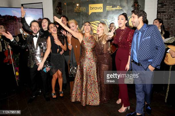 EVENTS The Real Housewives of Beverly Hills and Mexican Dynasties Premiere Party Pictured Oscar Madrazo Adan Allende Paulina Madrazo Fernando Allende...