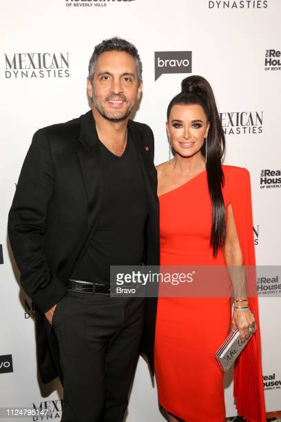 EVENTS The Real Housewives of Beverly Hills and Mexican Dynasties Premiere Party Pictured Mauricio Umansky Kyle Richards