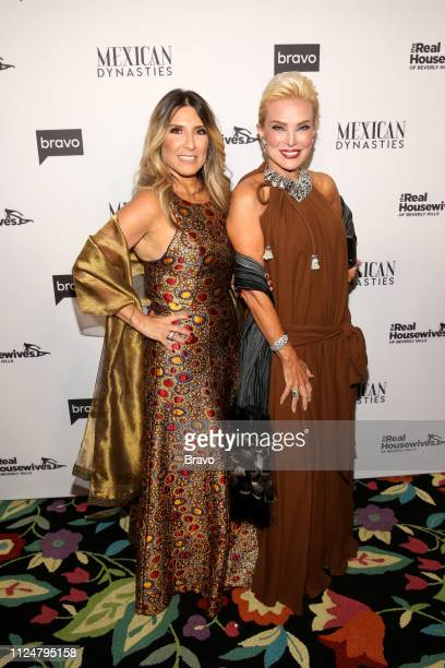 EVENTS The Real Housewives of Beverly Hills and Mexican Dynasties Premiere Party Pictured Doris Bessudo Raquel Bessudo