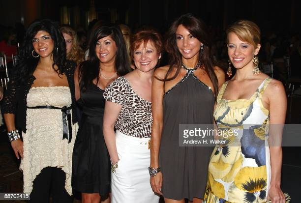 The Real Housewives of New Jersey attend Bravo's 'The Fashion Show' Finale at Cipriani Wall Street on June 26 2009 in New York City