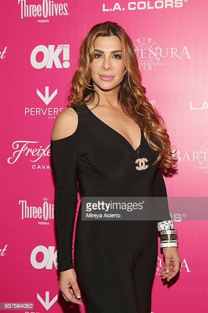 The Real Housewives of New Jersey Siggy Flicker attends the 2016 OK Magazine So Sexy NY event at TAO Downtown on June 1 2016 in New York City