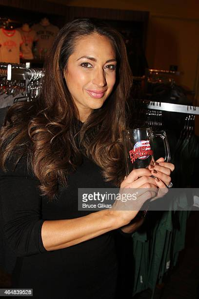 "The Real Housewives of New Jersey"" star Amber Marchese visits Planet Hollywood Times Square on February 28, 2015 in New York City."