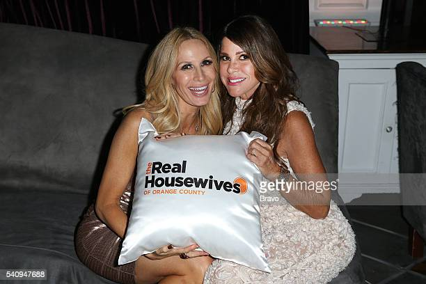 COUNTY 'The Real Housewives of Orange County' Season 11 Premiere Party in Los Angeles on June 16 2016 Pictured Peggy Tanous Lynne Curtin
