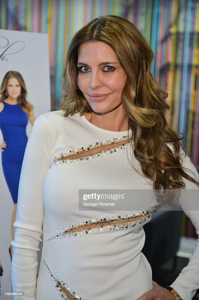 The Real Housewives of Vancouver Ronnie Negus attends the Shaw Media Press Conference held at the Shaw Media Building on December 12, 2012 in Toronto, Canada.
