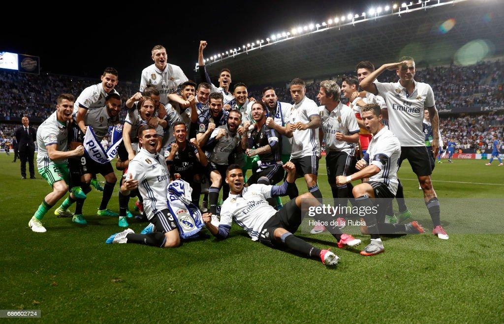 Malaga CF v Real Madrid CF - La Liga : News Photo