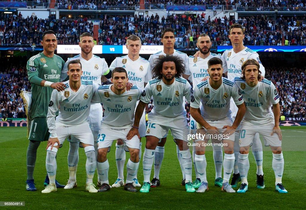 Real Madrid v Bayern Muenchen - UEFA Champions League Semi Final Second Leg : News Photo