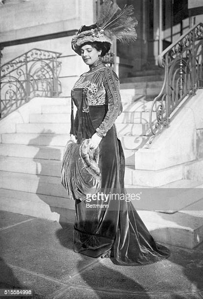 The real Mata Hari in her heyday The story of the famous war spy has just been subject of the silver screen Undated photograph