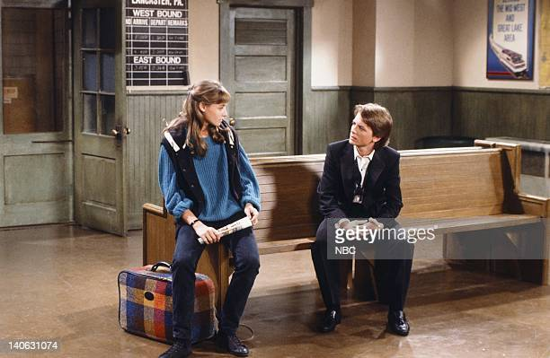 TIES The Real Thing pt 2 Episode 2 Pictured Tracy Pollan as Ellen Reed Michael J Fox as Alex P Keaton Photo by NBC/NBCU Photo Bank