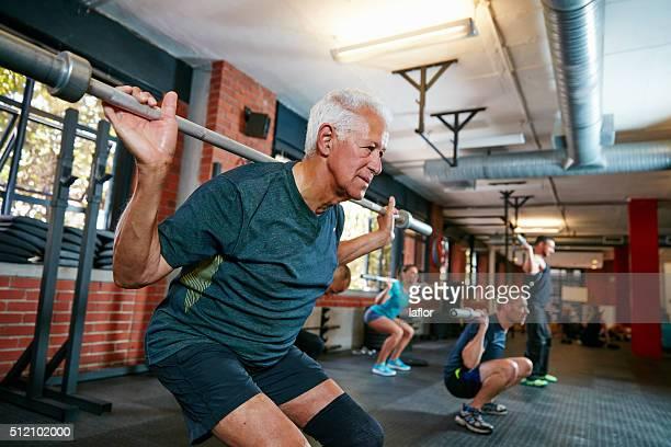 A verdadeira exercício físico começa quando quiser parar