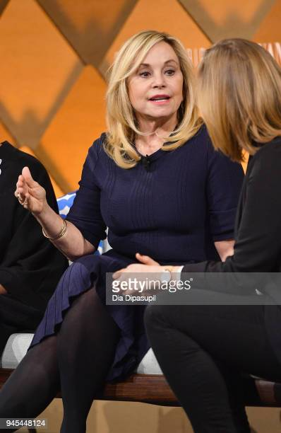 The RealReal founder and CEO Julie Wainwright speaks onstage during Vanity Fair's Founders Fair at Spring Studios on April 12, 2018 in New York City.